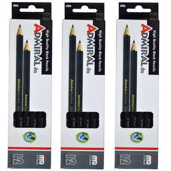 مداد آدمیرال  کد 36 بسته 3 عددی
