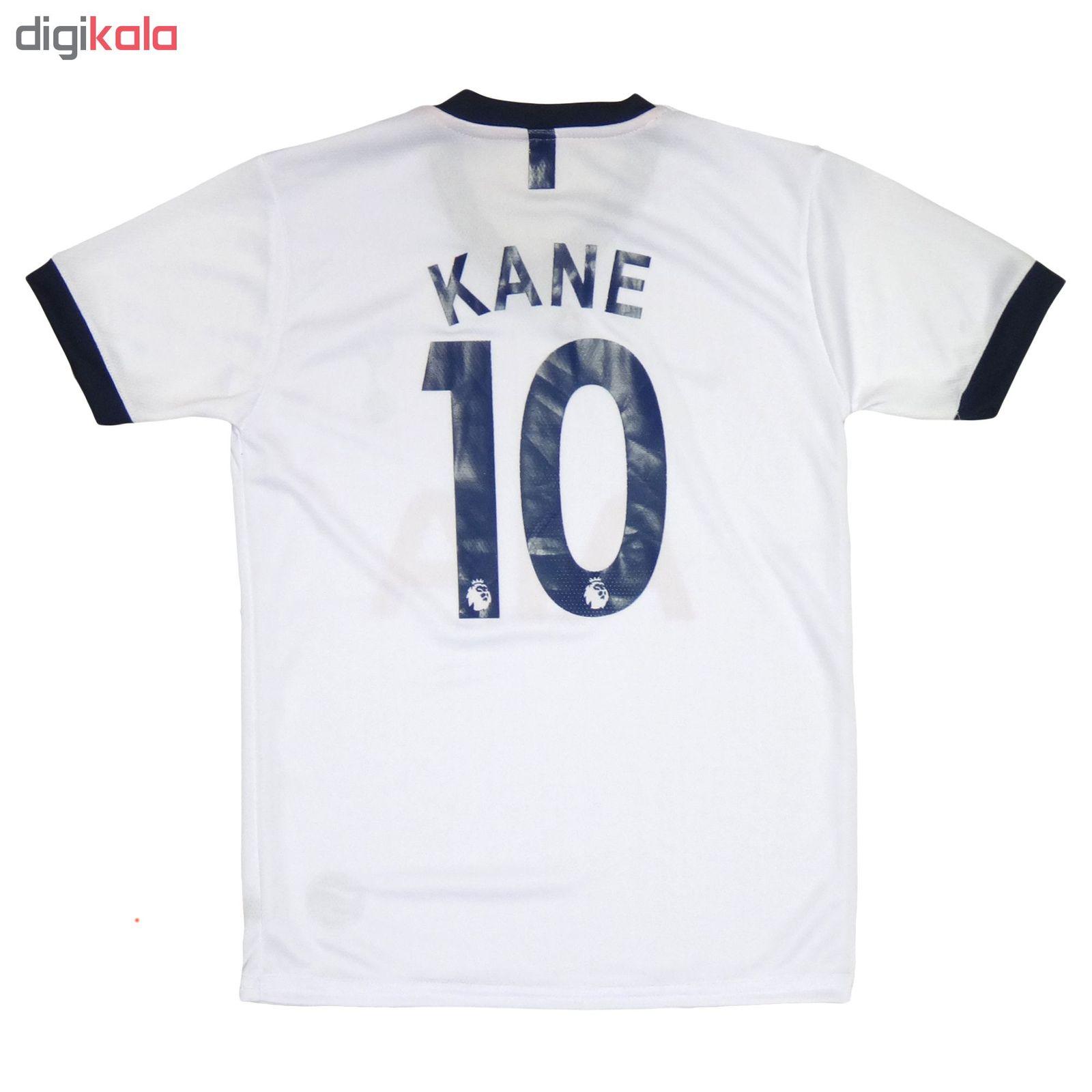 ست پیراهن و شورت ورزشی پسرانه طرح تاتنهام کد Tottenham-2020 main 1 2