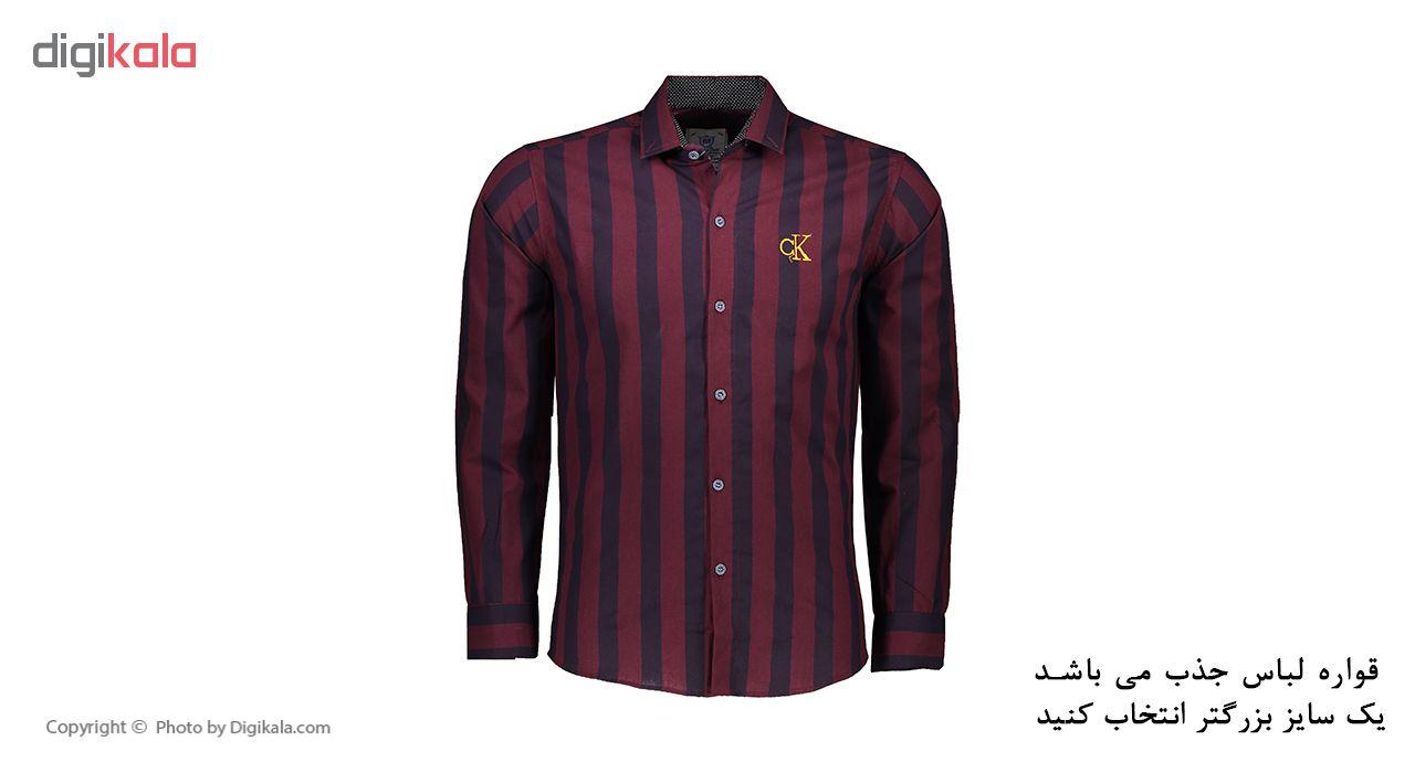 پیراهن آستین بلند مردانه کد M02144