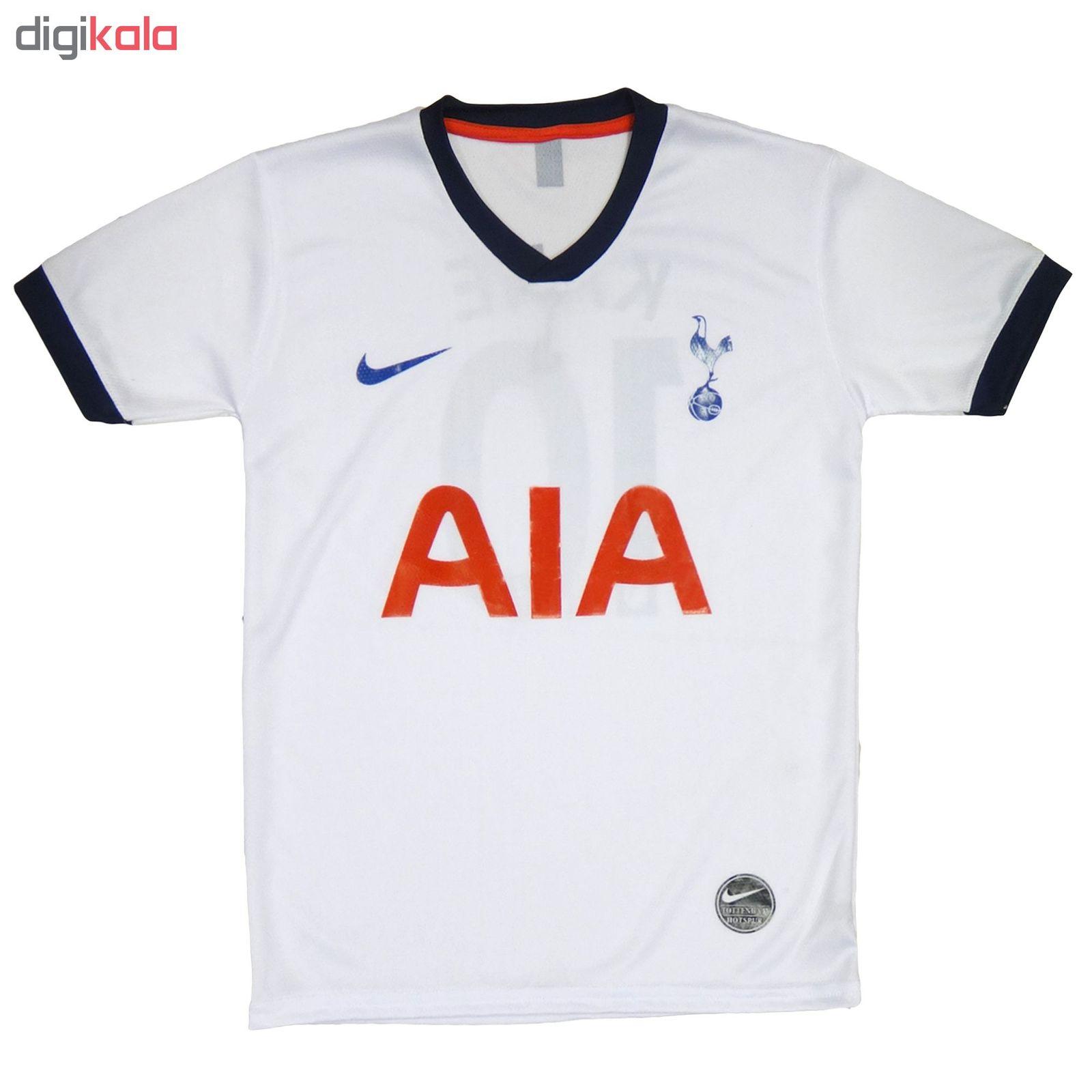 ست پیراهن و شورت ورزشی پسرانه طرح تاتنهام کد Tottenham-2020 main 1 3