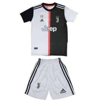 ست  پیراهن و شورت ورزشی پسرانه طرح یوونتوس کد Juventus-2020