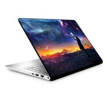 استیکر لپ تاپ طرح فضا مدل  TIE173 مناسب برای لپ تاپ 15.6 اینچ