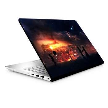 استیکر لپ تاپ طرح فضا کد TIE183 مناسب برای لپ تاپ 15.6 اینچ