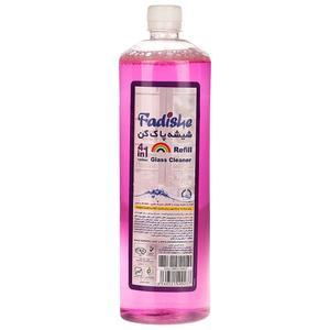 محلول شیشه پاک کن فدیشه مدل Lavender حجم 1200 میلی لیتر