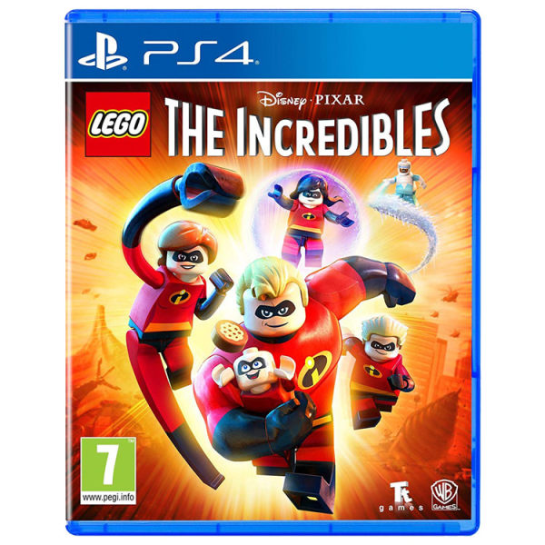 بازی LEGO The Incredibles مخصوص PS4