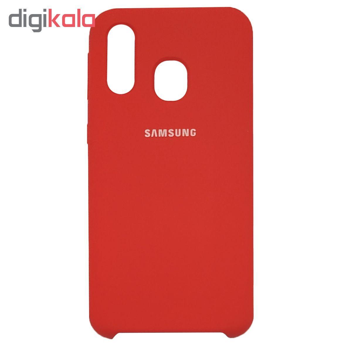 کاور مدل SIL-22 مناسب برای گوشی موبایل سامسونگ Galaxy A40 main 1 1