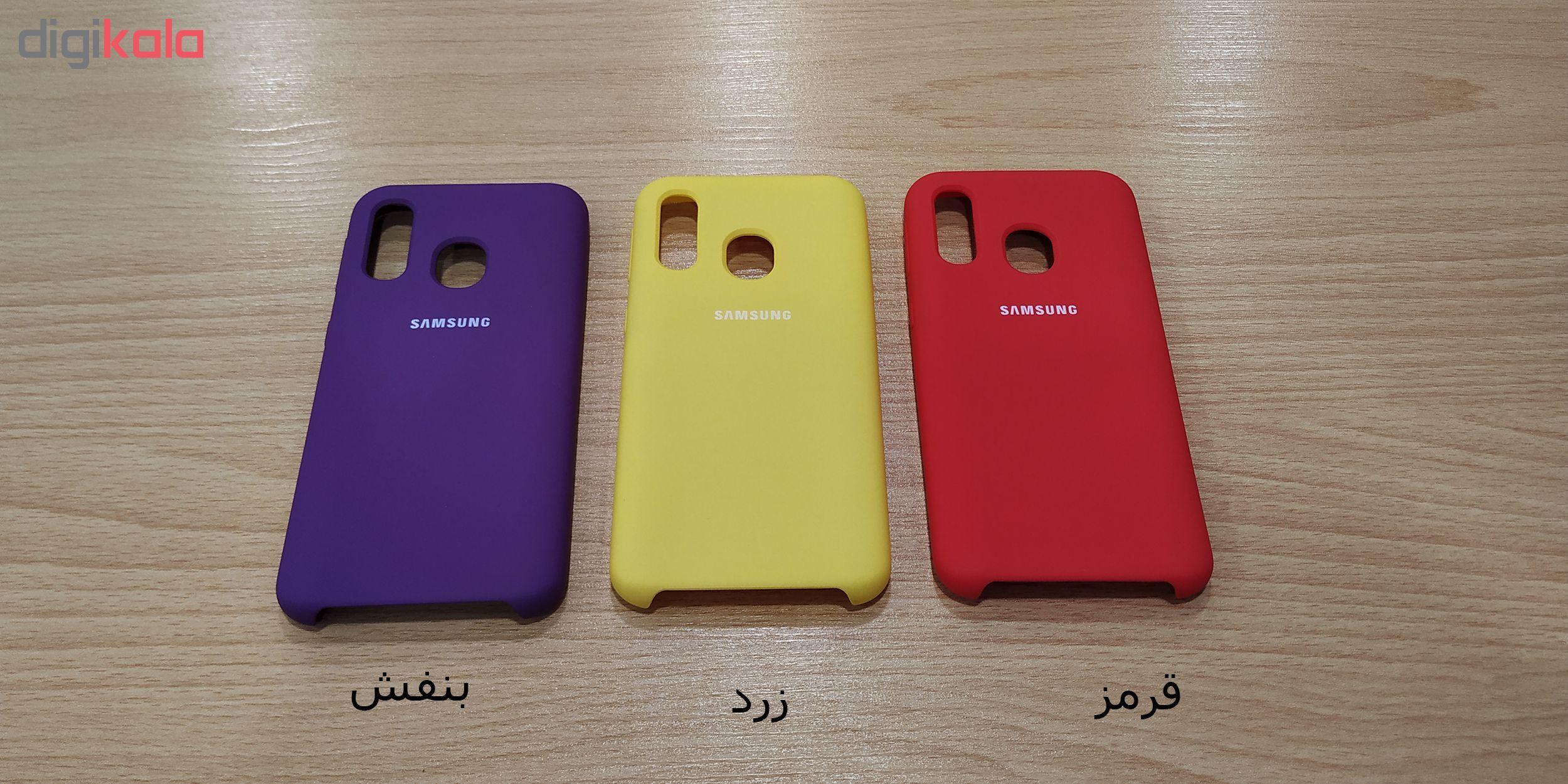 کاور مدل SIL-22 مناسب برای گوشی موبایل سامسونگ Galaxy A40 main 1 4