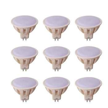 لامپ هالوژن ال ای دی 5 وات مدل 5770 sf پایه MR16 بسته 9 عددی