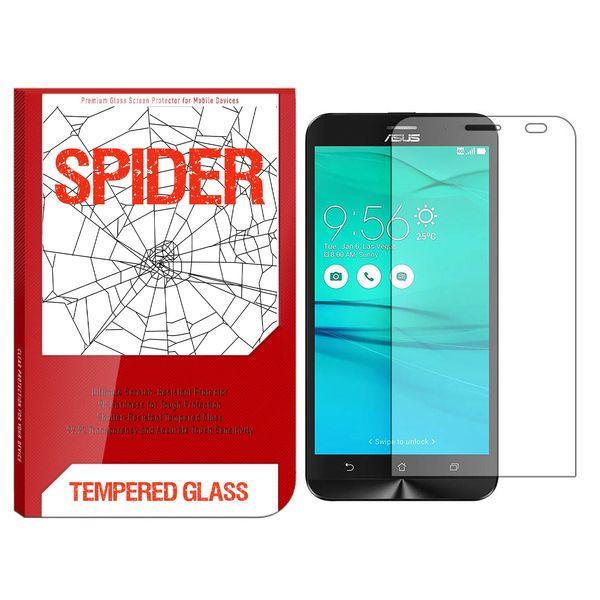 محافظ صفحه نمایش اسپایدر مدل S-TMP002 مناسب برای گوشی موبایل ایسوس Zenfone Go ZB500KL