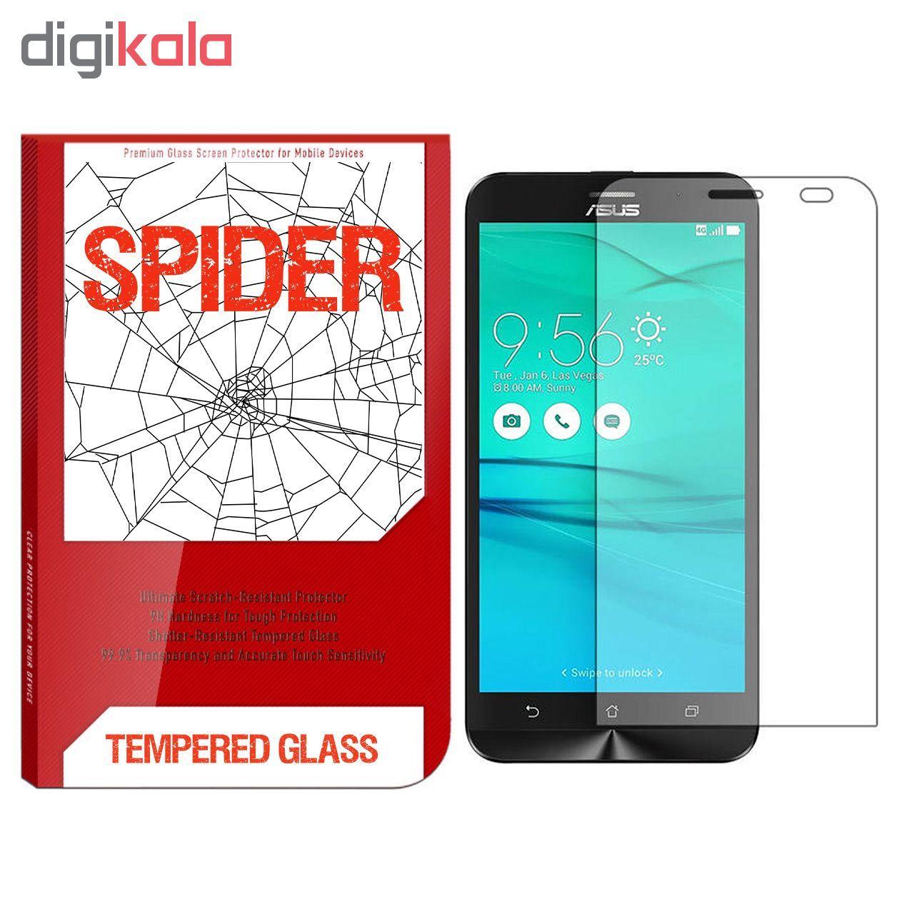 محافظ صفحه نمایش اسپایدر مدل S-TMP002 مناسب برای گوشی موبایل ایسوس Zenfone Go ZB500KL main 1 1