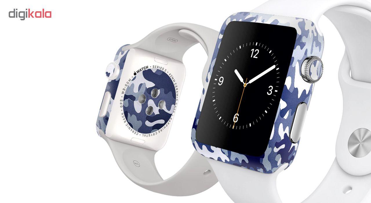 برچسب ماهوت طرح Army-Pattern مناسب برای ساعت هوشمند اپل Watch 2 - 42mm بسته 2 عددی