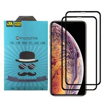 محافظ صفحه نمایش 6D مورفی مدل MR7B مناسب برای گوشی موبایل اپل Iphone XS MAX بسته دو عددی