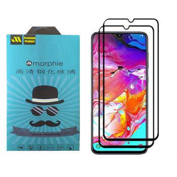 محافظ صفحه نمایش 6D مورفی مدل MR7B مناسب برای گوشی موبایل سامسونگ Galaxy A20 بسته دو عددی