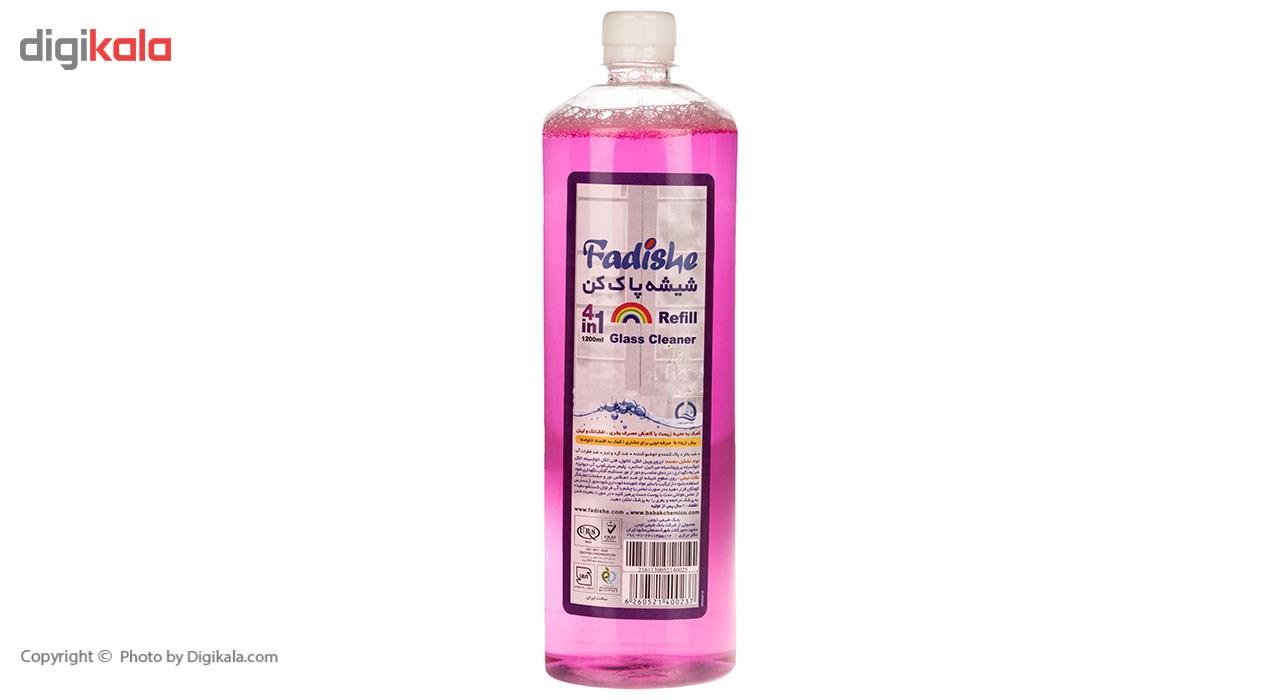 محلول شیشه پاک کن فدیشه مدل Lavender حجم 1200 میلی لیتر main 1 1