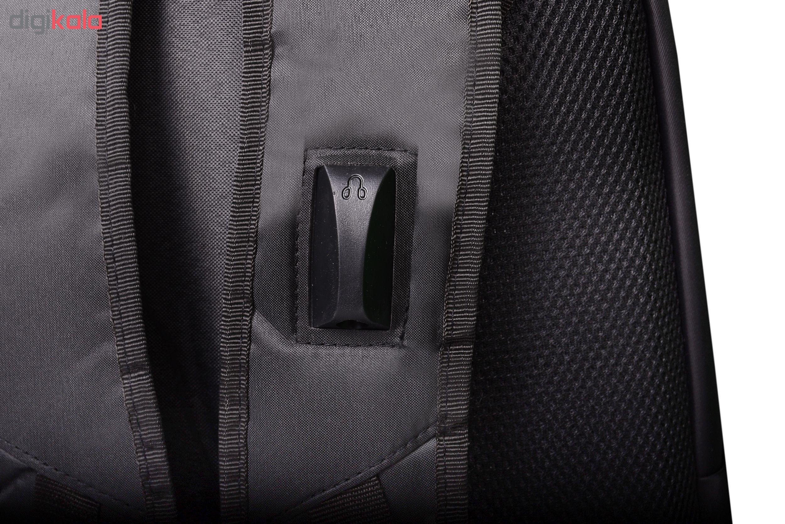 کوله پشتی لپ تاپ مدل M Zip 4185 مناسب برای لپ تاپ 15.6 اینچی