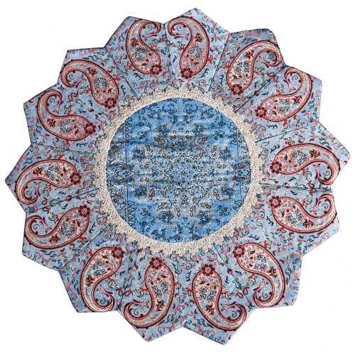 رومیزی ترمه طرح خورشید مدل 37-33