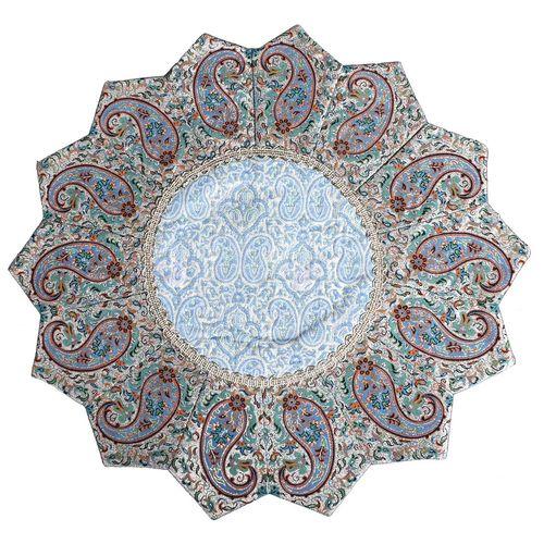 رومیزی ترمه طرح خورشید مدل 38-33