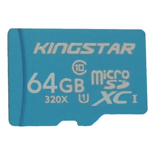 کارت حافظه microSDXC کینگ استار کلاس 10 استاندارد U1 سرعت 85MBps ظرفیت 64 گیگابایت