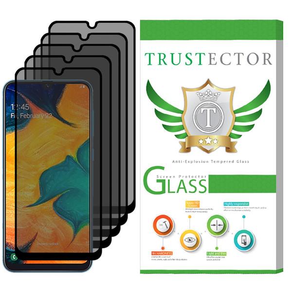 محافظ صفحه نمایش حریم شخصی تراستکتور مدل PSP مناسب برای گوشی موبایل سامسونگ Galaxy A50 بسته 5 عددی