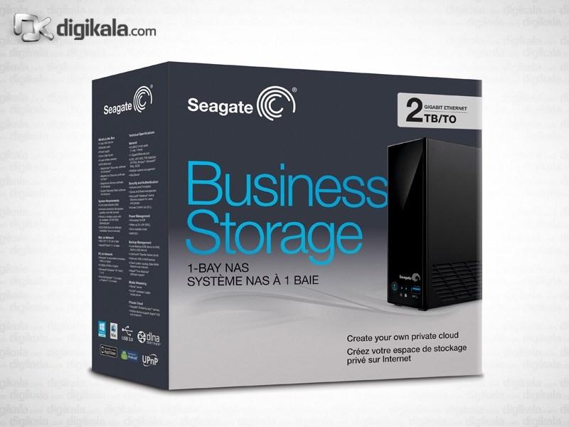 ذخیره ساز تحت شبکه 1Bay سیگیت مدل بیزینس استوریج ظرفیت 2 ترابایت