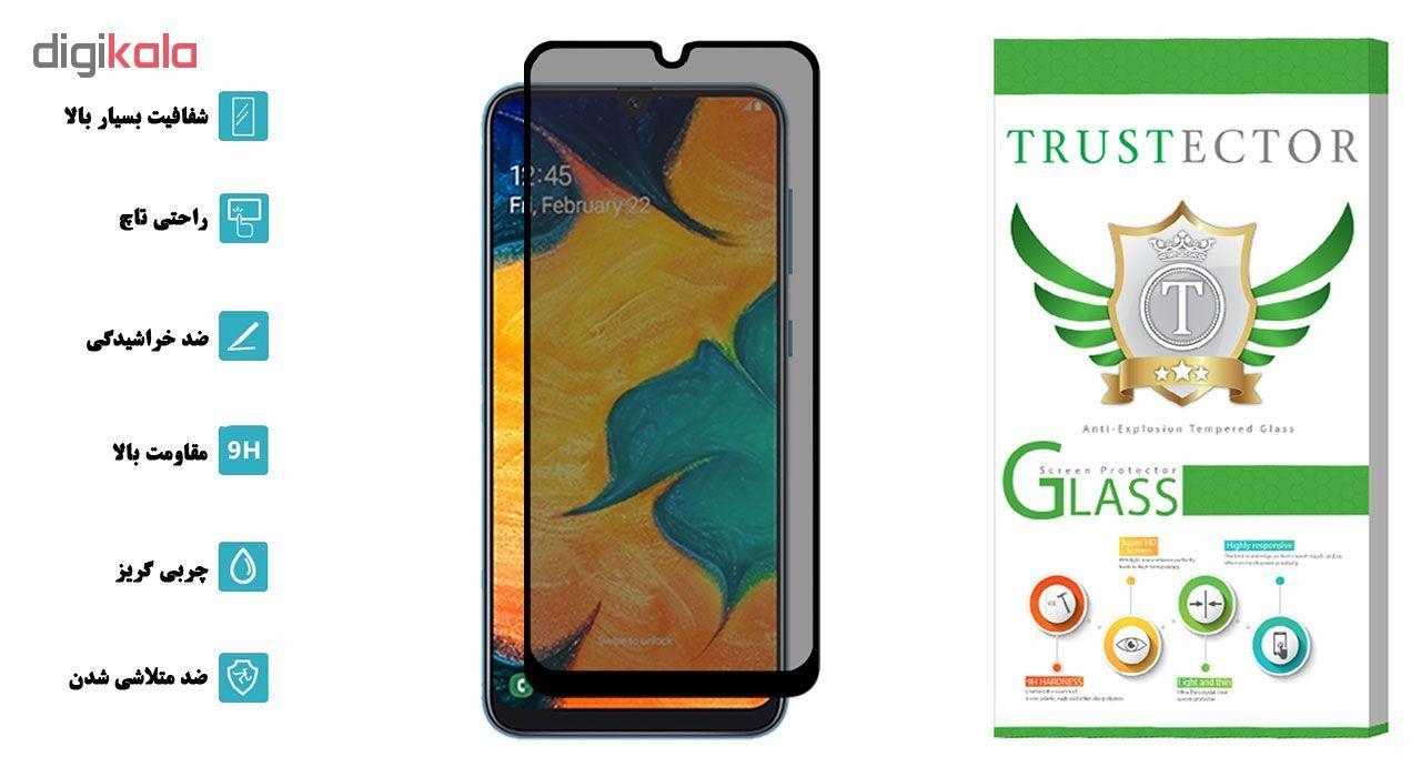 محافظ صفحه نمایش حریم شخصی تراستکتور مدل PSP مناسب برای گوشی موبایل سامسونگ Galaxy M20 main 1 2