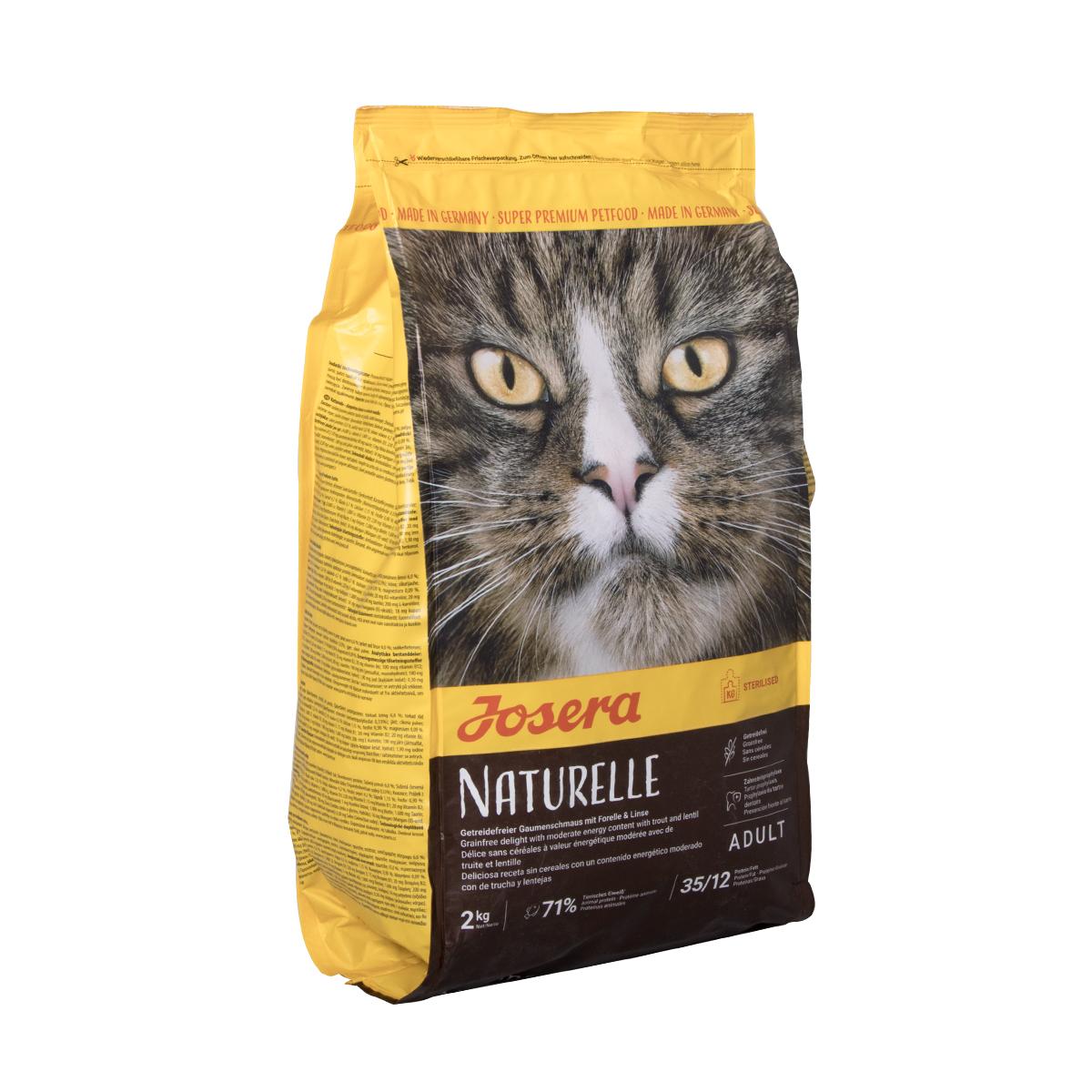 غذای خشک گربه جوسرا مدل Naturelle وزن 2 کیلوگرم