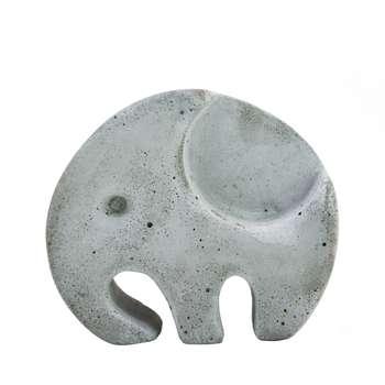 جا شمعی نیم دایره طرح فیل کد ۴۰۴