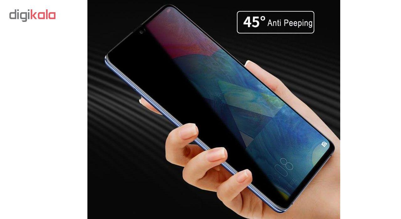 محافظ صفحه نمایش حریم شخصی تراستکتور مدل PSP مناسب برای گوشی موبایل سامسونگ Galaxy M20 main 1 6