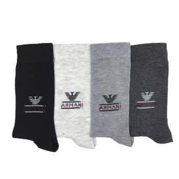 جوراب مردانه آرمانی کد LB-25 مجموعه 4 عددی