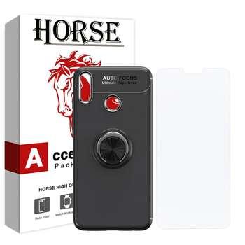 کاور هورس مدل CRH مناسب برای گوشی موبایل آنر 8X به همراه محافظ صفحه نمایش