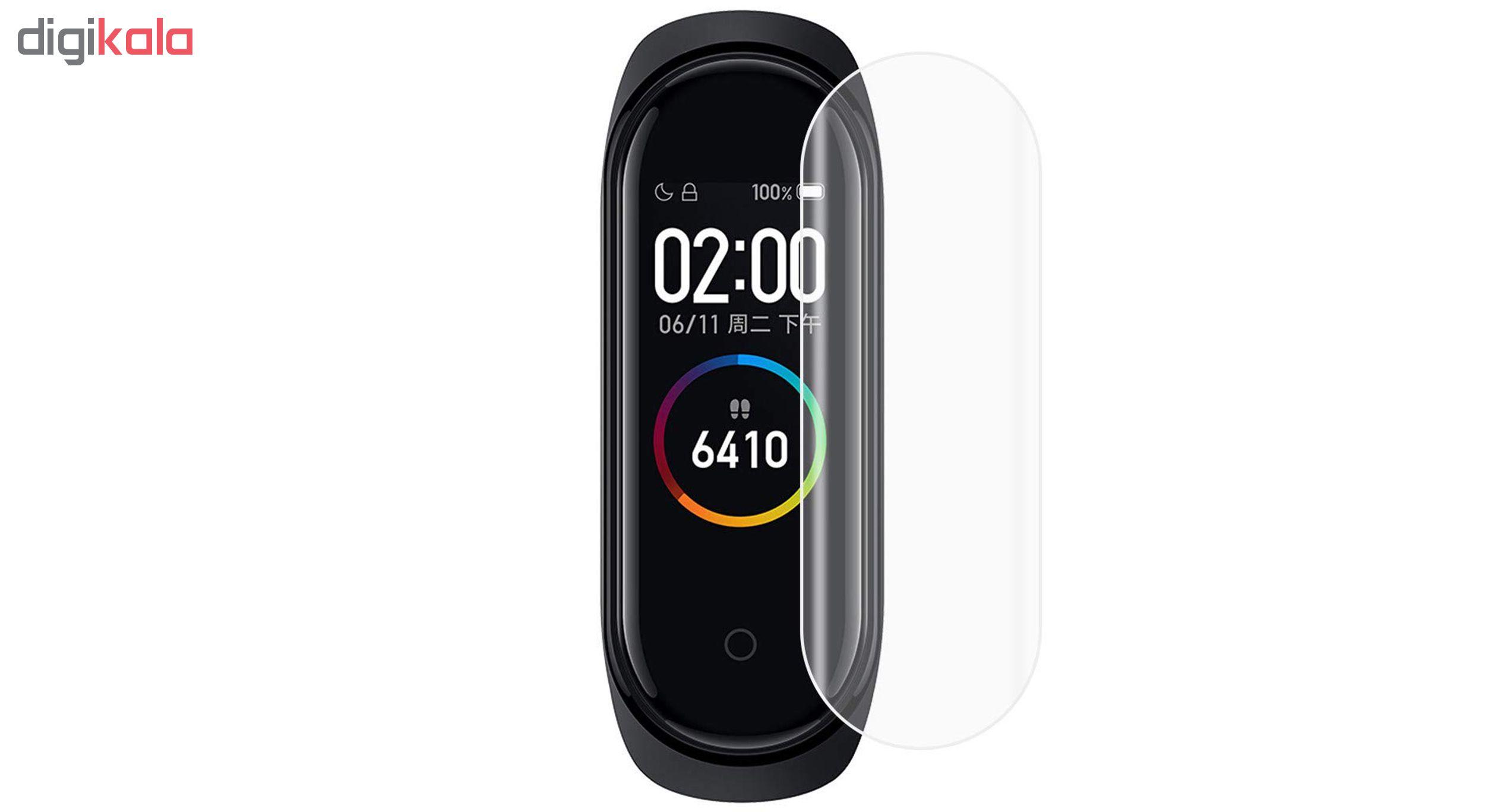 محافظ صفحه نمایش سومگ مدل SMG-G3 مناسب برای مچ بند هوشمند شیائومی Mi Band 4 بسته 3 عددی