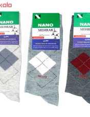 جوراب مردانه محراب کد 3-ATR مجموعه 3 عددی -  - 2
