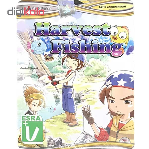بازی harvest fishing مخصوص ps2