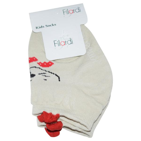 جوراب دخترانه فیلاردی طرح Mouse کد 1