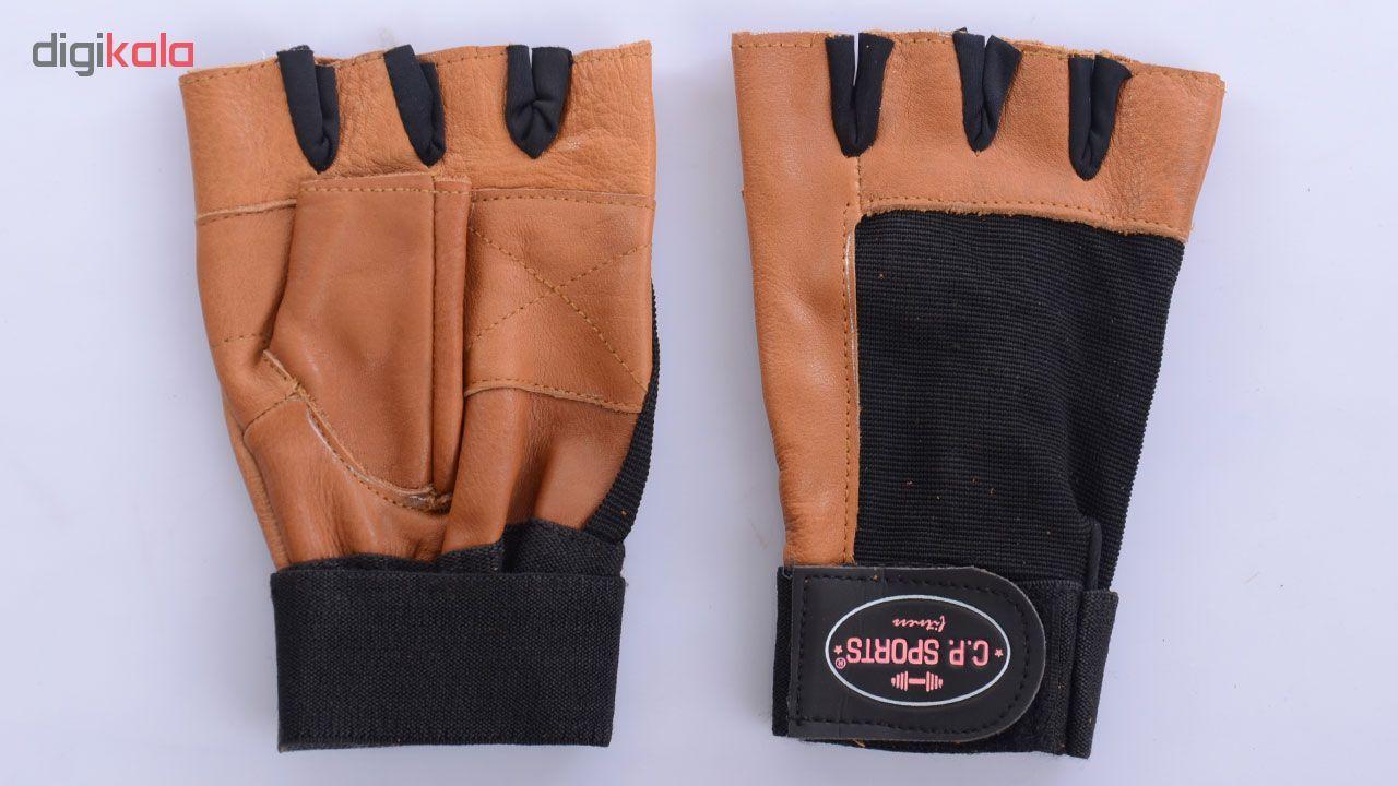 دستکش ورزشی سی پی اسپرت کد JK89 main 1 2