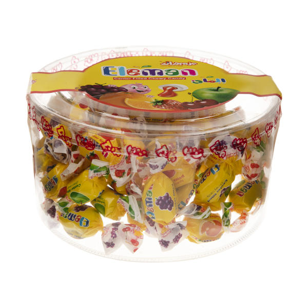 تافی مغزدار المان با طعم میوه ای - 350 گرم