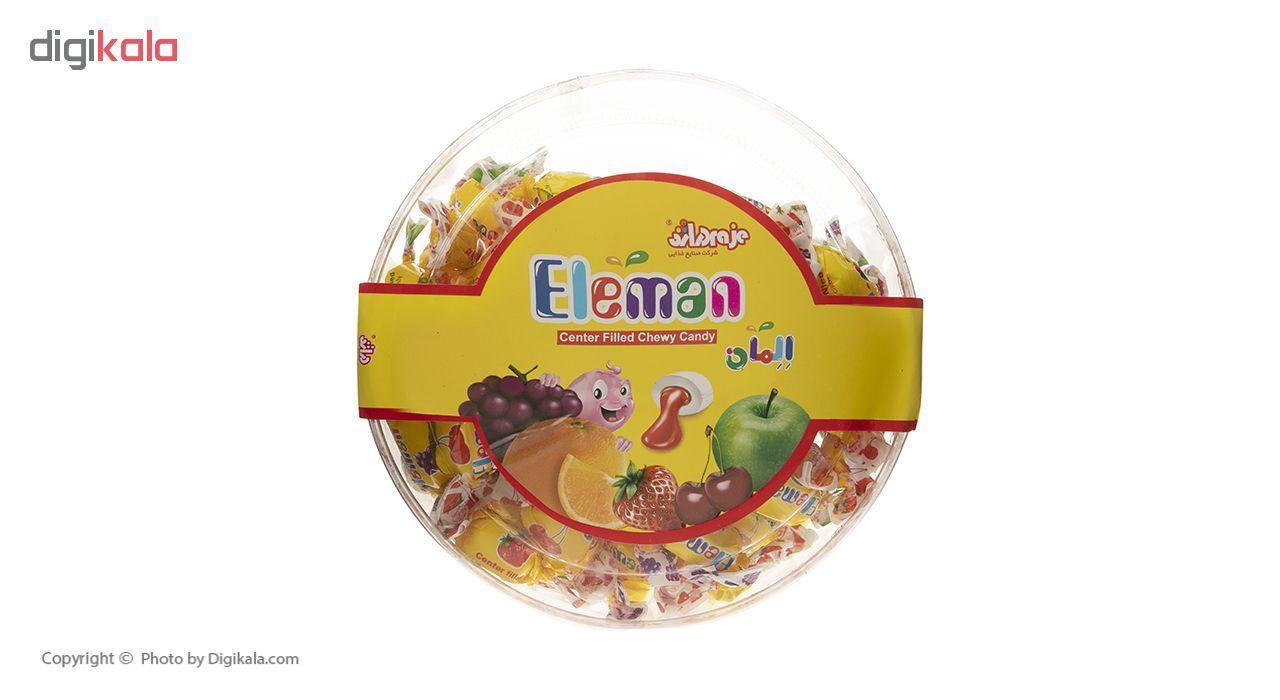 تافی مغزدار المان با طعم میوه ای - 350 گرم main 1 3