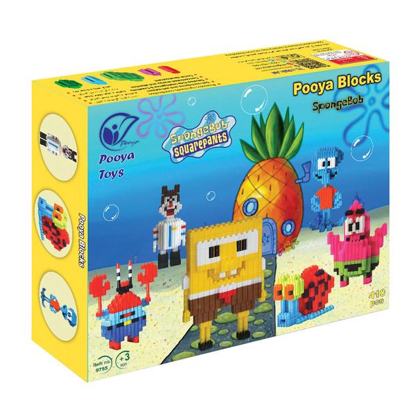 ساختنی اسباب بازی های پویا طرح باب اسفنجی کد 9755