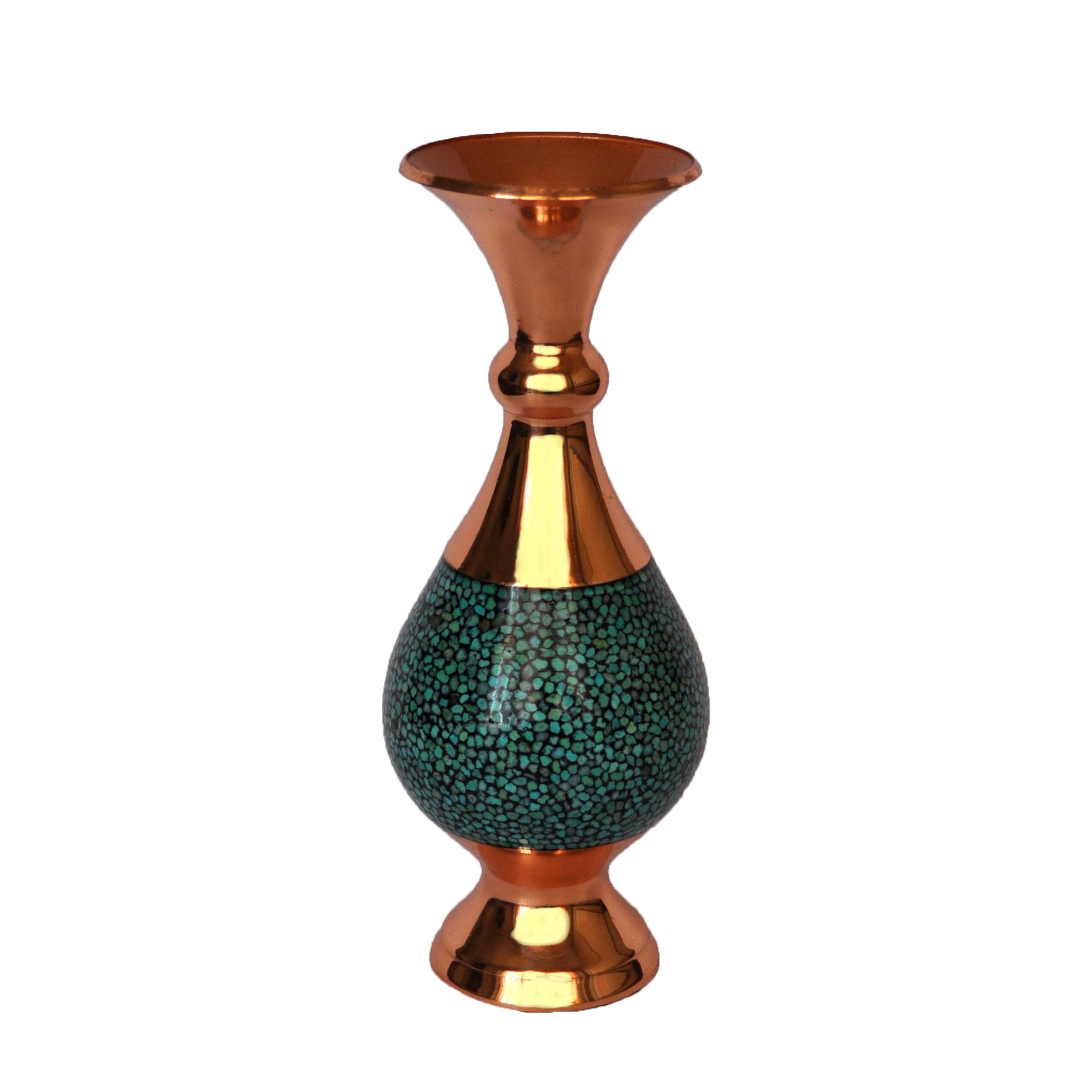 گلدان فیروزه کوبی شیرازی کد 1105002