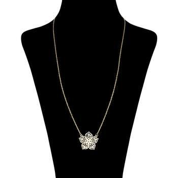گردنبند طلا 18 عیار زنانه کد 9002