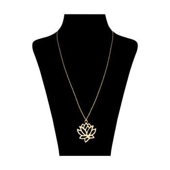 گردنبند طلا 18 عیار زنانه کد 9012