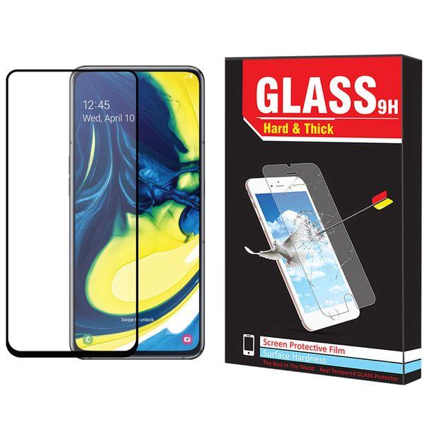 محافظ صفحه نمایش Hard and thick مدل F-01 مناسب برای گوشی موبایل سامسونگ Galaxy A80