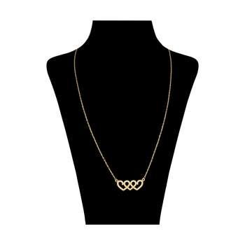 گردنبند طلا 18 عیار زنانه کد 3126