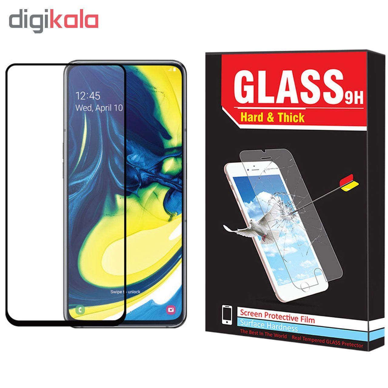 محافظ صفحه نمایش Hard and thick مدل F-01 مناسب برای گوشی موبایل سامسونگ Galaxy A80 main 1 1