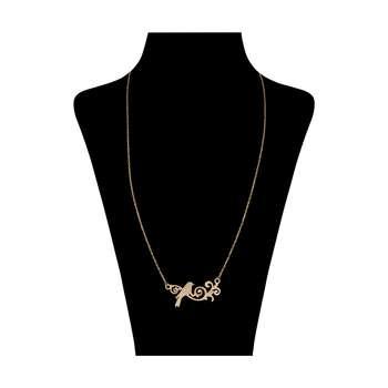 گردنبند طلا 18 عیار زنانه کد 3127