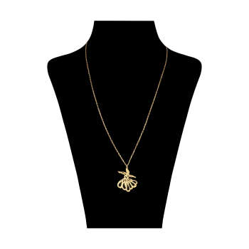 گردنبند طلا 18 عیار زنانه کد 3101
