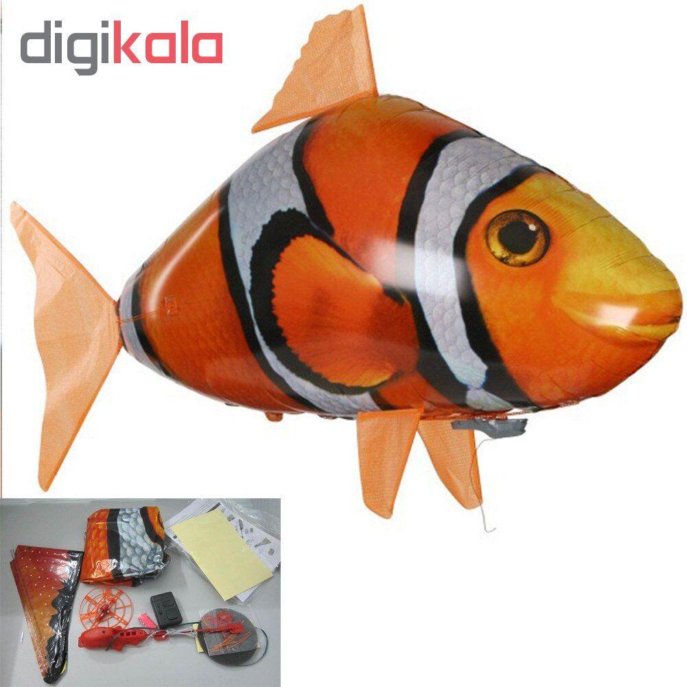اسباب بازی کنترلی طرح ماهی پرنده مدل fish102