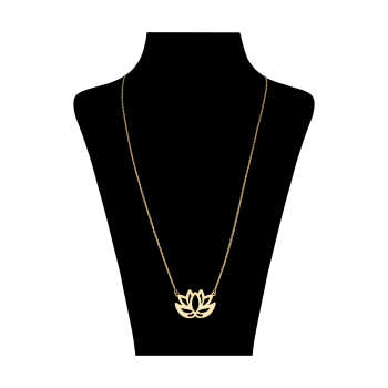 گردنبند طلا 18 عیار زنانه کد 9016