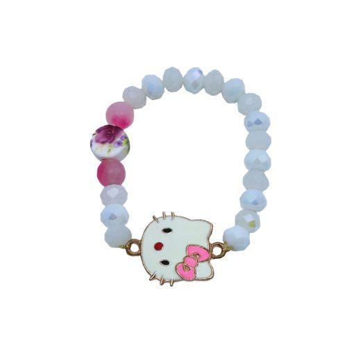 دستبند دخترانه طرح کیتی کد DTI099