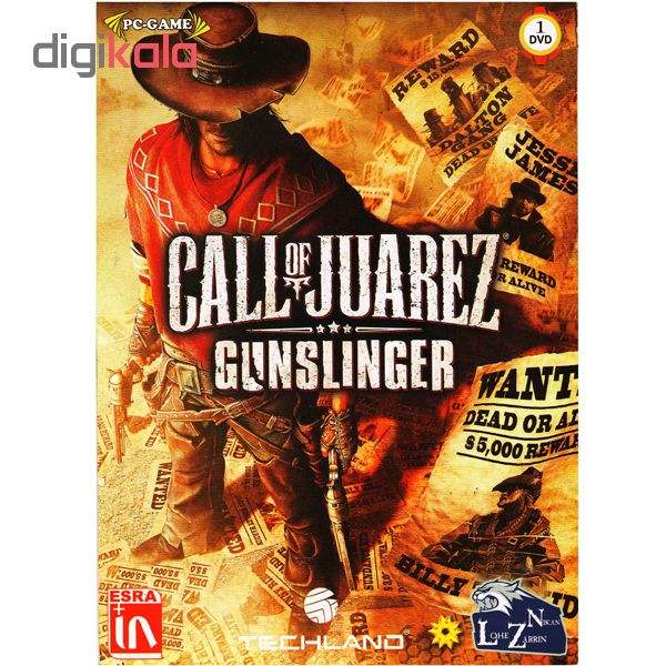 بازی CALL OF JUAREZ GUNSLINGER مخصوص PC main 1 1